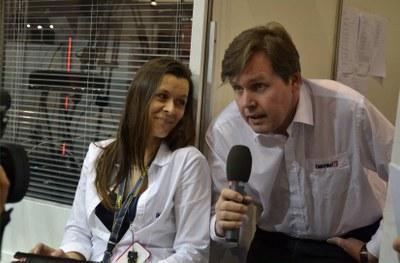 Alena Minaříková, Miroslav Minařík na závěr AMPERu 2013