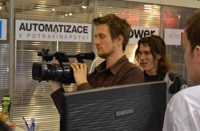 Dynamická kamera Elektrika.TV na AMPERu 2013