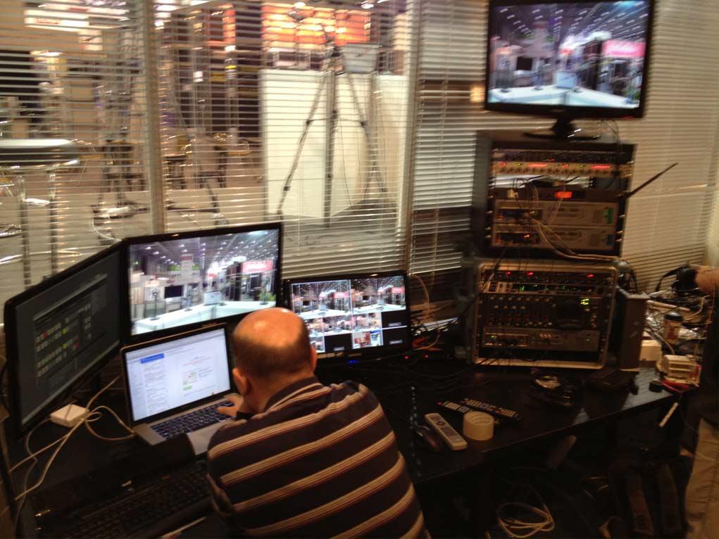 Režie Elektrika.TV na AMPERu 2013