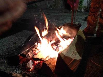 Večerní pohoda u ohně