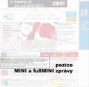 Pozice mini a fullmini zprávy